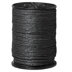 elrep standard svart 8mm 200m